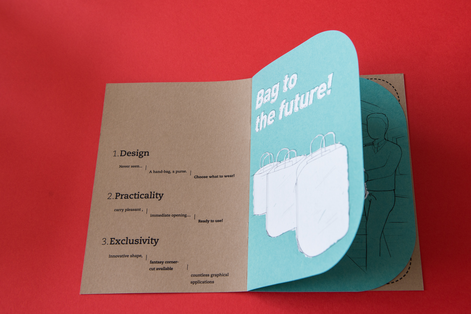 Brochure Cut It Out - Bag to the future!